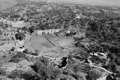 Ptasiego oka widok od Kumbhalgarh Fotografia Royalty Free