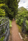 Ptath through gates at Nostell Priory Royalty Free Stock Images