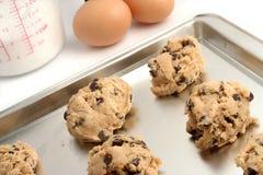 Pâte de biscuit Photos libres de droits