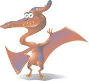 Pteranodon динозавра  Стоковые Фотографии RF