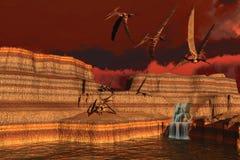 Pteranodon Stock Image