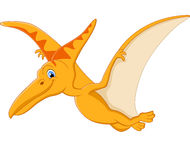 Pterodactyl cartoon Stock Photos