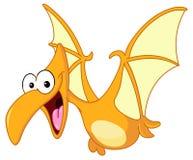 Pterodactyl dinosaur. Illustration of a pterodactyl dinosaur flying Royalty Free Stock Photography