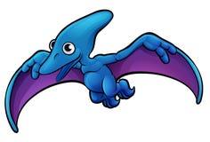 Pterodactyl Dinosaur Cartoon Character Royalty Free Stock Photo