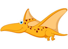 Pterodactyl dinosaur cartoon Royalty Free Stock Photos