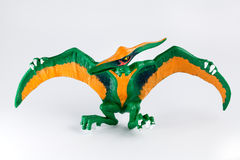 Pterodactyl, dinosaur toy Royalty Free Stock Photo