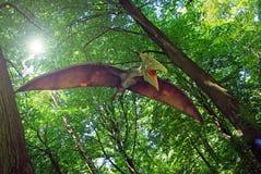 Pterodactylus stock fotografie
