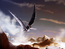 Pterosaur Royalty Free Stock Image