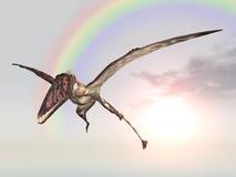 Pterosaur Dimorphodon Stock Image