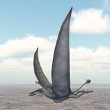 Pterosaur Dorygnathus Royalty Free Stock Images