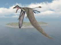 Pterosaur Dorygnathus Royalty Free Stock Image