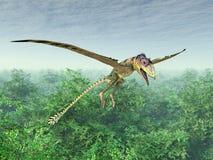 Pterosaur Peteinosaurus бесплатная иллюстрация