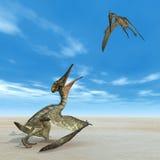 Pterosaur Pterodactylus Stock Photos