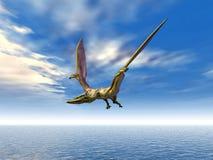 Pterosaur Quetzalcoatlus Royalty Free Stock Images
