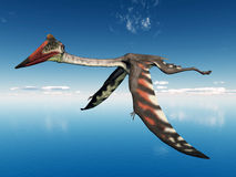 Pterosaur Quetzalcoatlus Royalty Free Stock Image