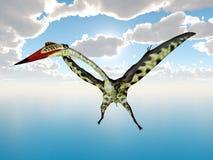 Pterosaur Quetzalcoatlus Stock Photography