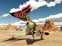 Pterosaur Thalassodromeus Stock Photography