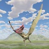 Pterosaur Thalassodromeus Royalty Free Stock Photo
