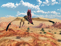 Pterosaur Thalassodromeus Royalty Free Stock Photo