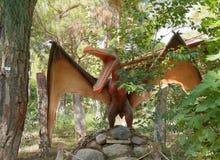 Pterosaur-Trias /248-65 cretáceo hace millón de años En el D Foto de archivo libre de regalías