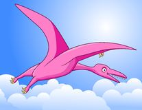 Pterosaurus cartoon Stock Photos