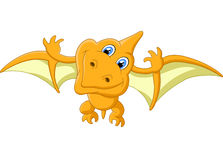 Pterosaurus cartoon Stock Image