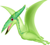 Pterosaurus cartoon Stock Image