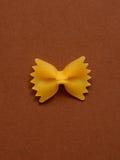 Pâtes simples de farfalle Photos libres de droits