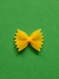 Pâtes simples de farfalle Photos stock