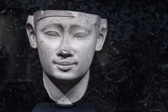 Ptolémée 1 sculpture Photos stock