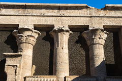 Ptolemaic świątynia Horus, Edfu, Egipt Fotografia Royalty Free