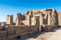 Ptolemaic świątynia Horus, Edfu, Egipt Obrazy Stock