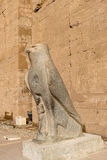 Ptolemaic Temple of Horus, Edfu, Egypt. Royalty Free Stock Photos