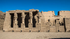 Ptolemaic Temple of Horus, Edfu, Egypt. Ptolemaic Temple of Horus, Edfu (Idfu, Edfou, Behdet), Egypt royalty free stock photography