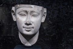 Ptolemy 1 Beeldhouwwerk Stock Foto's