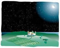ptovence de nuit illustration libre de droits
