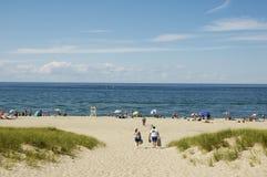 ptown пляжа стоковое изображение rf