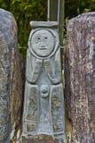 Pétroglyphes indiennes 2 de Taino Image libre de droits