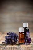 Pétrole d'Aromatherapy Image libre de droits