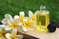 Pétrole de massage Photographie stock libre de droits