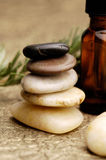 Pétroles de massage Photos libres de droits