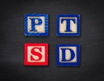 PTSD. Post traumatic stress disorder Stock Photography