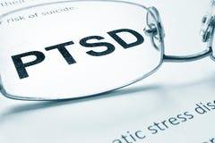 PTSD Stock Image