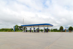 Ptt do posto de gasolina Fotografia de Stock