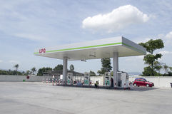Ptt liquefied petroleum gas station Stock Images