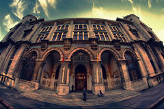 Ptt national mail organization building in turkey Royalty Free Stock Photography