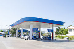 Ptt petroleum station Royalty Free Stock Images