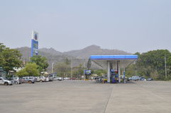 Ptt petroleum station Royalty Free Stock Image