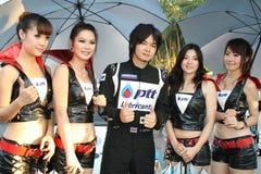 PTT presenter Stock Photography