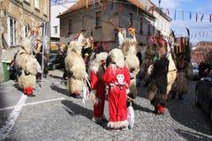 Ptuj kurents carnival mask Royalty Free Stock Photo